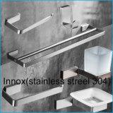 Вспомогательное оборудование ванной комнаты полки новой ванной комнаты нержавеющей стали конструкции 304 стеклянное