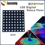 Para la etapa de DJ de Bodas de luz LED Panel discoteca bailando pisos