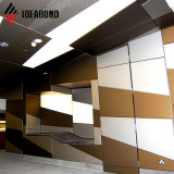 Ideabond external Wall Silver Cheap Aluminum Cladding Wall Panel (AF-408)