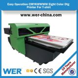 Wer-D4880t CE ISO Aprobado impresora de alta calidad Dx5 A2 DTG