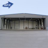 조립식으로 만들어진 저가는 구조 항공기 격납고를 눈을 감는다