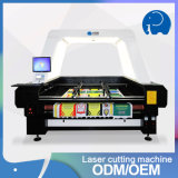 Fabrik Wholseale Gewebe-Laser-Ausschnitt und Gravierfräsmaschine-Preis