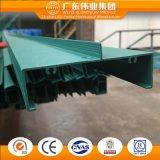 Aluminium d'usine de Weiye Chine/Aluminio/profil en aluminium pour le guichet de tissu pour rideaux