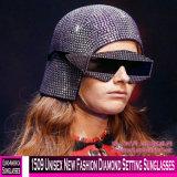 1509 neue Form-Diamant-Einstellungs-Unisexsonnenbrillen
