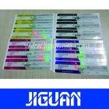 Precios baratos personalizados de diferente color 10ml vial de la testosterona holográfica de verificación