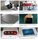Máquina da marcação do laser da fibra dos materiais do ABS e do metal
