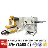 La enderezadora material y Uncoiler 3 del alimentador del motor servo en 1 hicieron en China (MAC2-800)