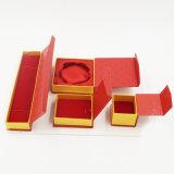 Причудливый коробка ювелирных изделий бумажной доски с горячим печатание (J08-E2)