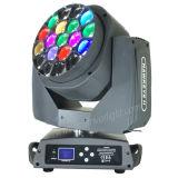 6PCS 15W LEIDEN van de Straal van de Ogen van de Bij van RGBW Lichte Bewegend Hoofd