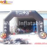 Arche de course gonflables géants parfait pour les sports d'événements de promotion de réunion