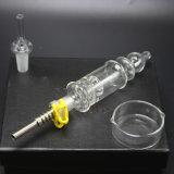 Uitrusting van de Collector van de Nectar van Perc van de Verspreider van Birdcage 32mm de Pijp van het Glas van de Diameter N059