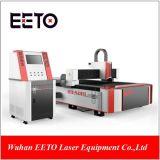 1500W máquina de corte láser de fibra con una sola tabla
