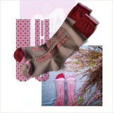 Носки хлопка пробки оптового изготовленный на заказ шаржа предназначенные для подростков