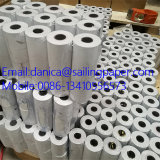 Rollos de papel térmico Jumbo (de cualquier tamaño es ok).