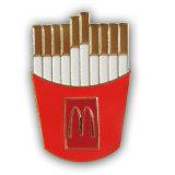 Kundenspezifisches Metalldecklack-Nächstenliebepin-Abzeichen für Förderung