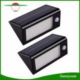 太陽動力を与えられた動きセンサー屋外LEDの太陽壁ライト