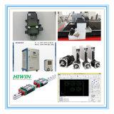 Double machine de découpage de laser de fibre de la tête 2000W avec la source de laser de Raycus