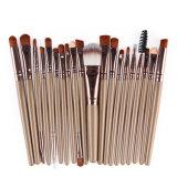 Древесина макияж щетки 20ПК/Set PRO порошок Foundation Eyeshadow Eyeliner кромка щетки