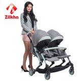 Lado a Lado Two-Seat carrinho de bebé