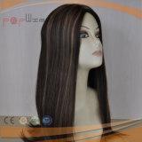 Peluca sin tocar superior de seda de las mujeres del pelo humano (PPG-l-01107)