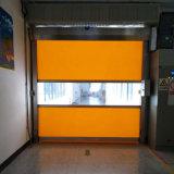 Porta de Rolagem automática industrial PVC Porta de Alta Velocidade