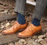 Stile convenzionale dei pattini del cuoio classico del Mens per gli uomini