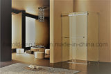 cabine dobro de vidro do chuveiro da porta deslizante de 8-10mm Temepered