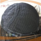 Cabelo brasileiro de topo de seda Kosher Judia Peruca (PPG-l-01220)