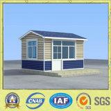 Casa movible del centinela de la cabina prefabricada del protector