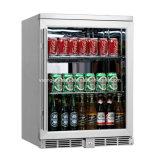 Edelstahl-elektrische Getränkekühlvorrichtung-Mitte-Bildschirmanzeige-Kühlvorrichtung in den Kühlräumen