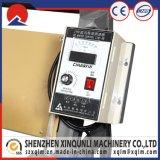 Maquinaria de rolamento de pano do Tatting da potência para o couro do PVC