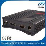 Lector de tarjetas chip de 4 puertos lector fijo de la antena RFID apoyo 100PCS etiquetas por segundo