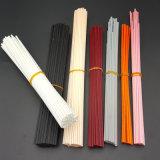 Palillos anaranjados clásicos del vidrio de fibra (poliester o synethic) para el difusor de lámina
