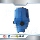 Fabricado en China actuador eléctrico eléctrica de calentamiento de la válvula de bola de acero inoxidable