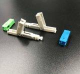 CATV及びLANの光学パッチ・コードのための光ファイバ速いコネクター