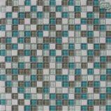 Mosaico del vidrio de la pared de la cocina del material de construcción 15*15