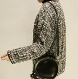 Высокое качество OEM дамы куртка с длинной втулки без втулки нанесите на короткое замыкание
