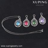 43088 Xuping Corea Boda Collar de diamantes de imitación para las mujeres de los cristales de Swarovski