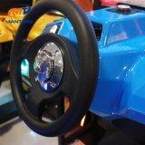 動きのシミュレーターのダイナミックな速度の機密保護ベルト3dofのばねシャーシ車のアーケード・ゲーム機械