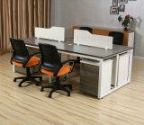 Conception modulaire en bois de taille standard de bureau de poste de travail de partition de l'armoire (SZ-WST726)