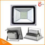 6V 10/20/30/50W/100W를 가진 램프 LED 플러드 월가 태양 강화된 빛