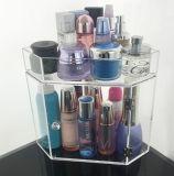Caixa de armazenamento acrílica do organizador cosmético