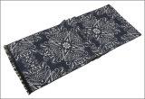 Caxemira reversível unisex das mulheres dos homens como o lenço tecido densamente feito malha morno da impressão do inverno (SP805)