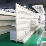 Aménagement s'arrêtant en métal de crochet de présentoir des produits de supermarché