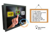 開いたフレームUSB RS232ポート(MW-172MET)が付いている17インチのタッチ画面LCDのモニタ