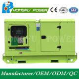 generador diesel silencioso estupendo insonoro de 72kw Hongfu con el motor de Perkins