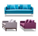 Tipo da tela - sofá da recepção de 2 Seater com mesas de centro