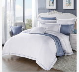 Комплект крышки Duvet гостиницы установленного хлопка одеяла качества поставщика Китая белый