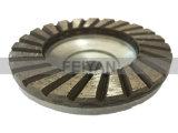 Roda de alumínio do copo do porão