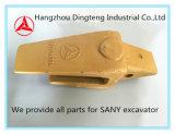 De Houder van de Tand van de emmer Geen 60116435K van de Vervangstukken van Graafwerktuigen Sany